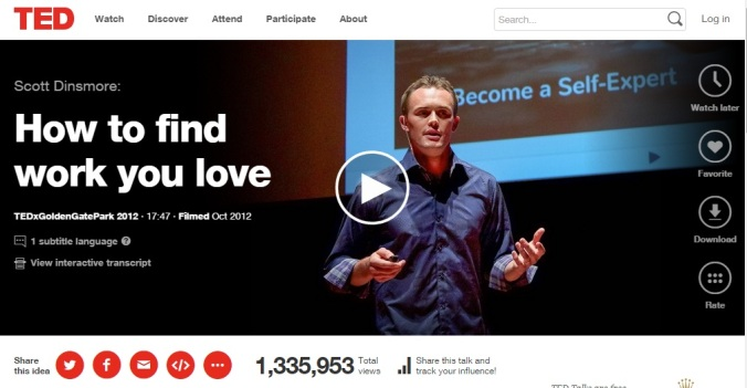 https://www.ted.com/talks/scott_dinsmore_how_to_find_work_you_love