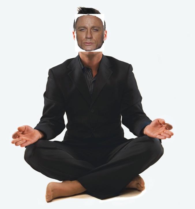 James Bond gets mindful....